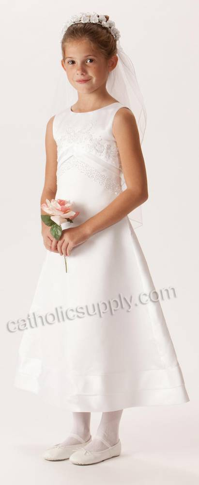 Samantha First Communion Dress *WHILE SUPPLIES LAST* first communion dress, first eucharist dress, white dress, little girl dress, flower girl dress,  special occasion dress,