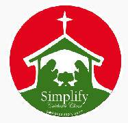 """Simplify Christmas"" Auto Magnet auto magnet, christmas car magnet, fridge magnet, home decor, car decor, stocking stuffer,"