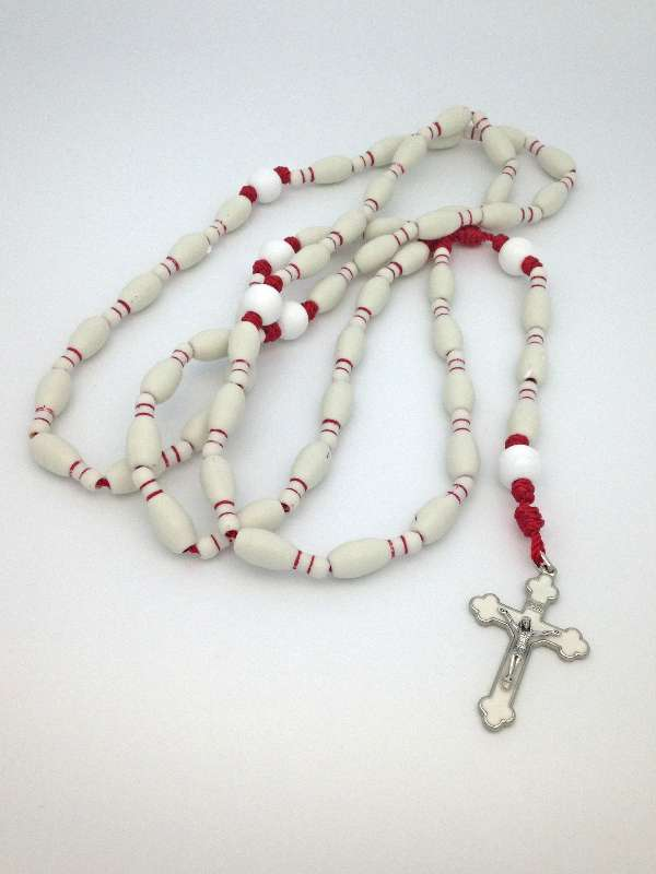 Sports Rosary-Bowling sports rosary, first communion gift, reconciliation gift, confirmation gift, youth gift, birhtday gift, boy gift, girl gift, sport gift, athlete gift, rosary,youth rosary,bowling gift, bowling rosary