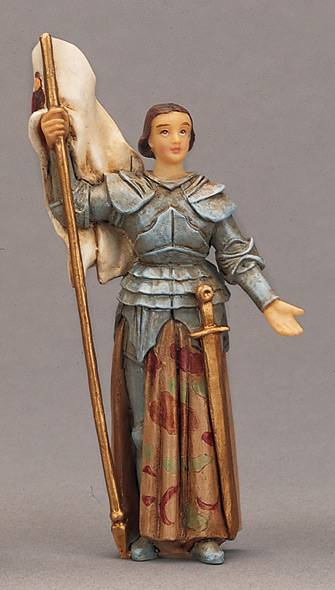 St. Joan Of Arc Statue patron saint statue, saint story, first communion gift, namsake gift, girl gift, reconciliation gift, sacramental gift, birthday gift, personal gift,