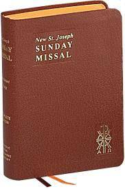 St. Joseph Sunday Missal missal, annual, church liturgy, 820/10BN
