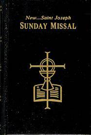St. Joseph Sunday Missal  missal, annual, church liturgy, 820/22B