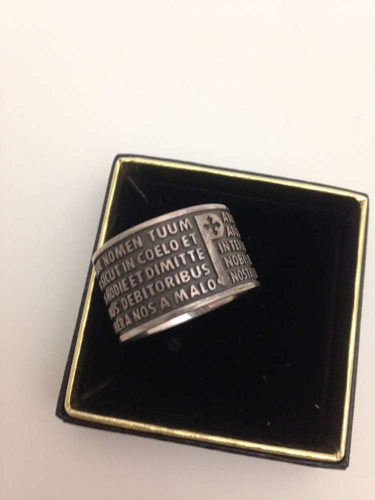 "Sterling Silver ""Tuum"" Ring"