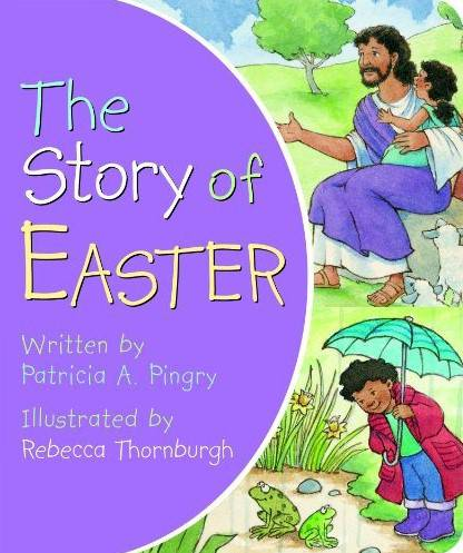 Story of Easter  coloring book, lent, easter, seasonal, activity book, group activity, kids book, kid activity,56809T,978-0-8249-1844-6