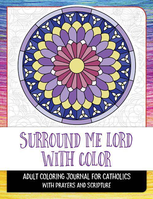 Surround Me Lord with Color Adult Coloring Book adult coloring book, coloring books
