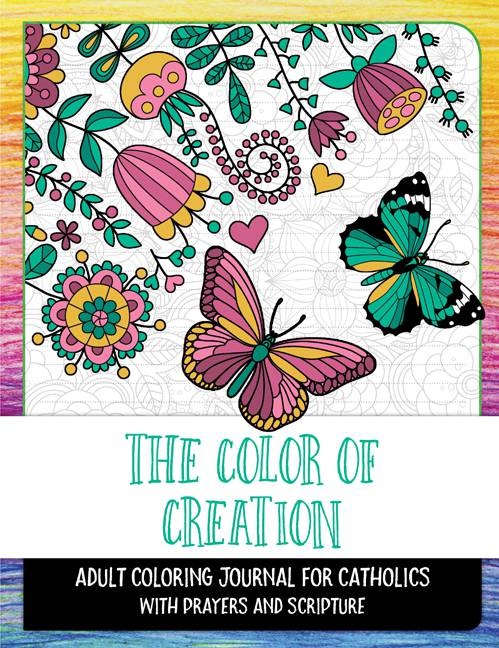 The Color of Creation Adult Coloring Book coloring books, adult coloring book