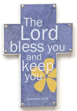 %27The Lord Bless You and Keep You%27 Wall Cross new baby, new baby gift, baptism gift, baptism, christening, christening gift, picture wall cross, wall cross, baby cross, child cross, shower gift, baby item, baby cross, sacramental cross, first communion cross, confirmation cross, reconciliation cross