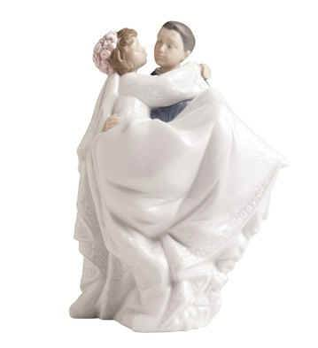 %27The Perfect Day%27, Wedding Figurine wedding gift, figurine, wedding figurine, couple figurine, lladro nao figurine, shower gift, cake topper,