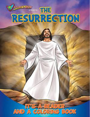 The Resurrection Coloring Book coloring book, lent, easter, ressurection, christ risen, seasonal, activity book, group activity, kids book, kid activity,CAG-RES