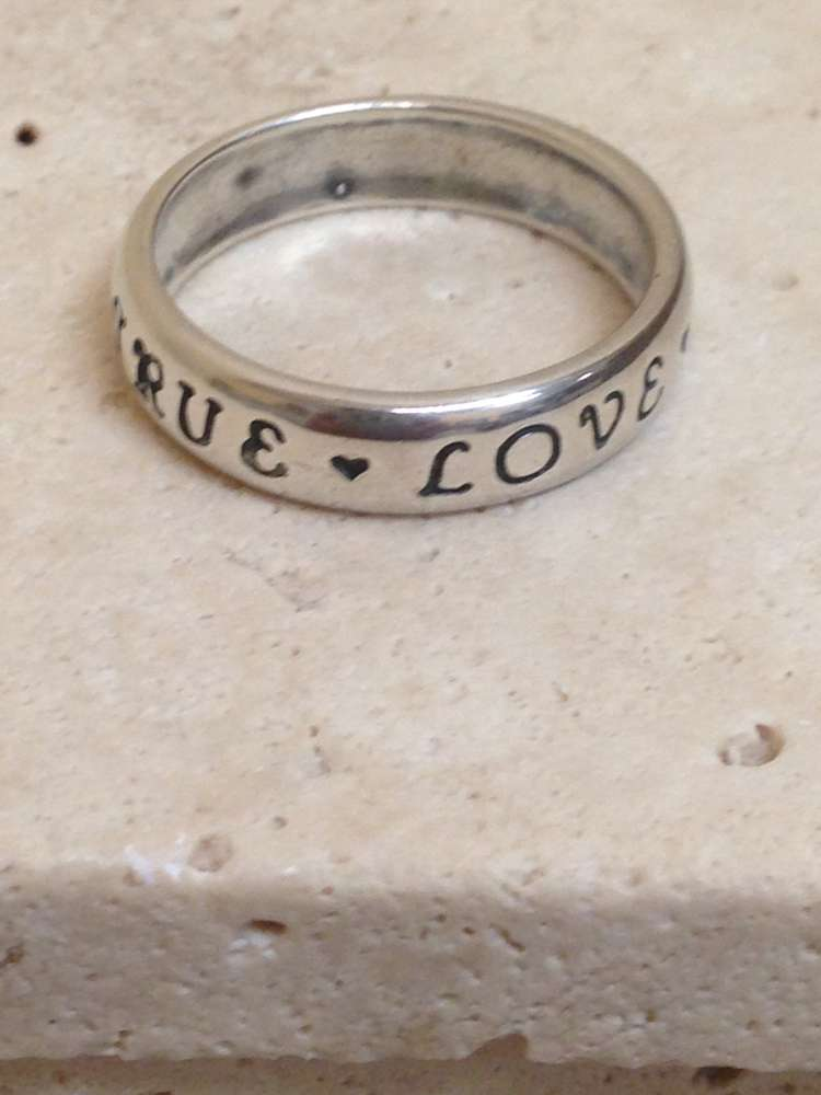 True Love Waits Ring Sterling