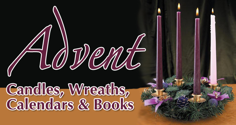 Advent Wreaths, Candles, Calendars & Books