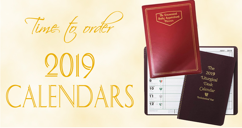 Time to order your 2019 Calendars