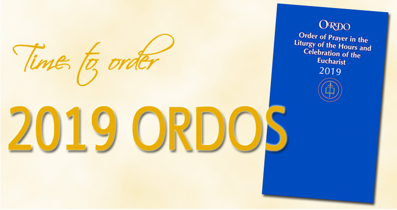 Time to order your 2019 Ordo