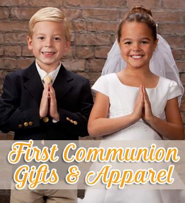 first communion gifts and apparel