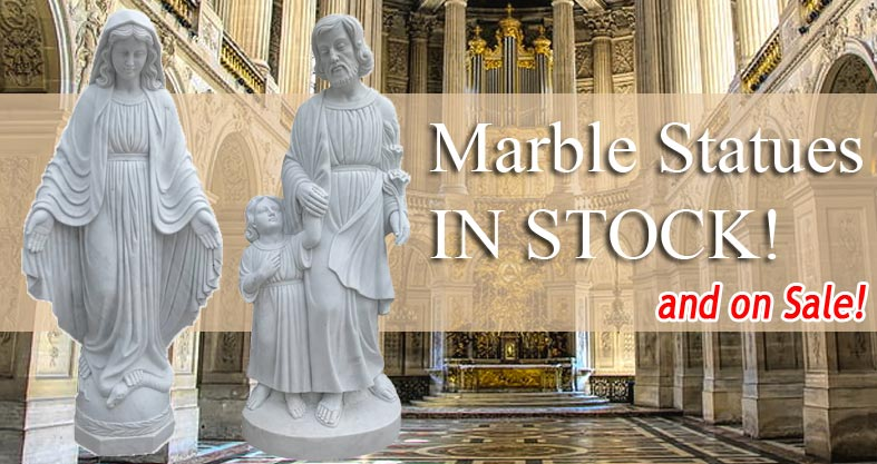 marble statues on sale