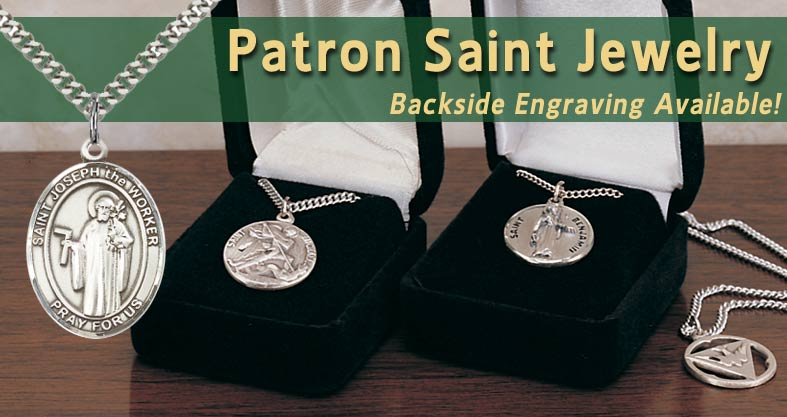 PATRON SAINT JEWELRY | CATHOLIC SUPPLY OF ST. LOUIS