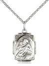 "St. Anthony Rectangle Medal on 18"" Chain"