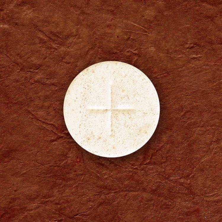 "1 1/8"" White Host host, church hosts, church breads, altar breads, hosts for church, communion wafers, church wafers, first holy communion wafers, cavanaugh communion wafers, cavanaugh wafers, cavanaugh hosts, altar bread, altar wafers, catholic church hosts"