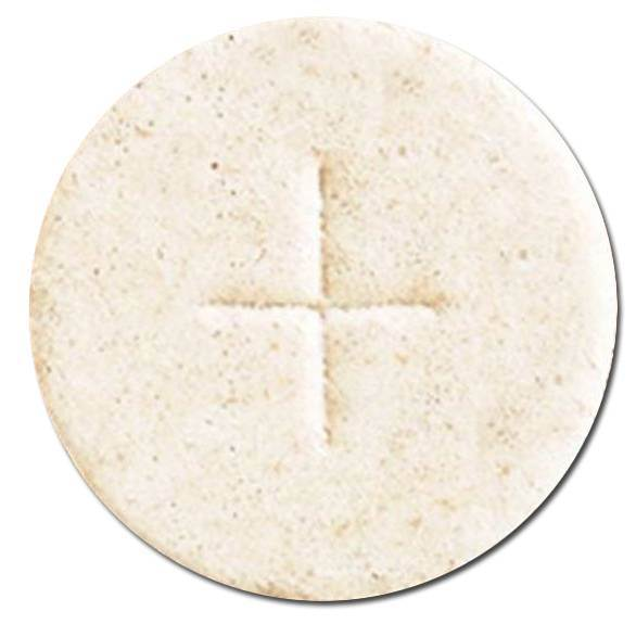 "1 1/8"" White Host Altar bread"