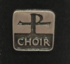 "1/2"" Pewter Choir Lapel Pin"