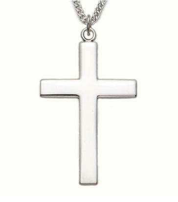"1.5"" Our Father Cross Necklace"
