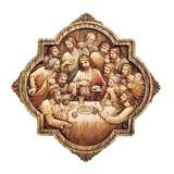 "10.25"" Last Supper Wall Plaque"