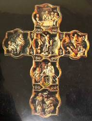 "10"" Life of Jesus Wall Cross"