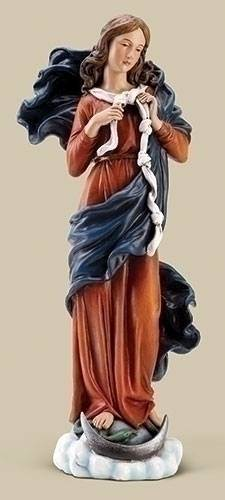 "10"" Mary, Undoer of Knots Statue 10"" Mary, Undoer of Knots Statue, pope francis, mary statue, madonna statue, prayer for difficult situations"
