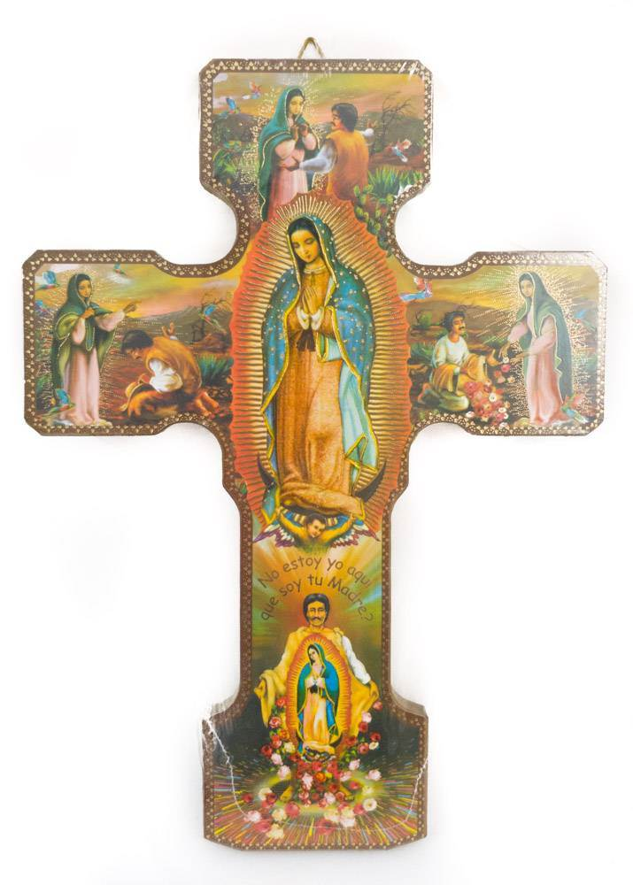 "10"" Our Lady of Guadalupe Icon Cross"