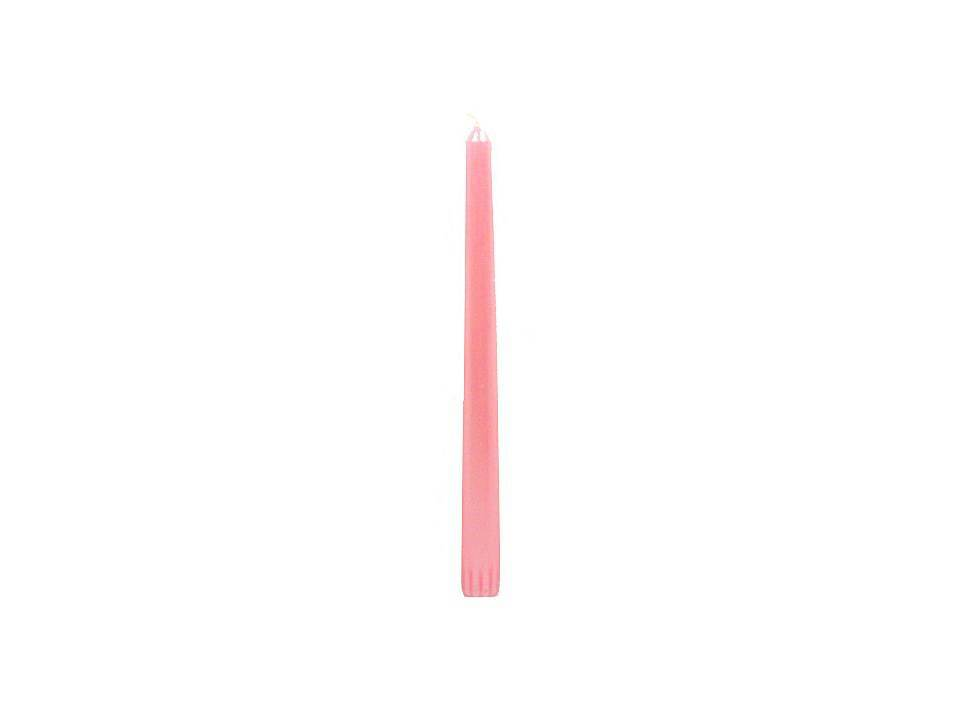 "10"" Pink Advent Taper Candle"