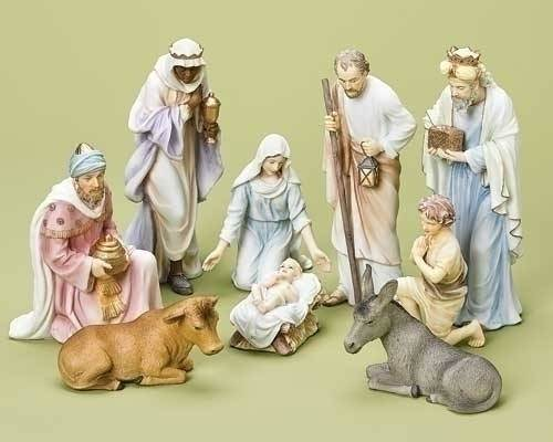 "Galleria Divina Nativity Set, 10"" Scale"