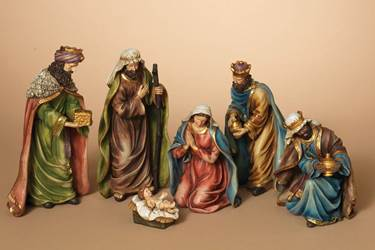 "11 1/2"" Nativity Figure Set"