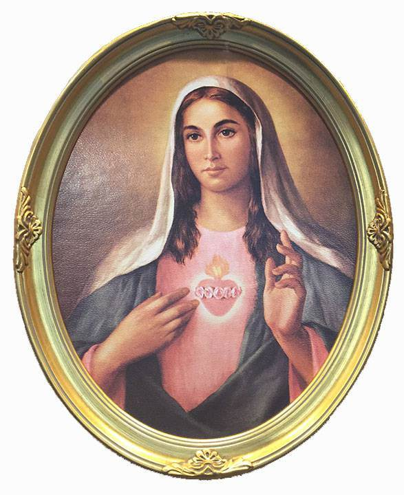 11x14 Immaculate Heart of Mary Frame