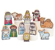 11 pc Childrens Nativity Set