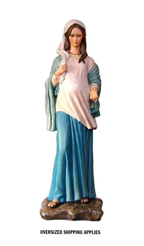11311 Our Lady of Hope 3ft Fiberglass Full Color Handpainted