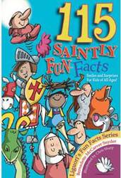115 SAINTLY FUN FACTS childrens book, facts, fun facts book, kids gift, childrens gift, book on god, kids book,435623