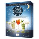 Happy Hour Advent Calendar With Dark Chocolate Liqueur-Filled Assortment