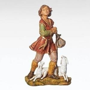 "12"" Fontanini Paul, Shepherd Figure"