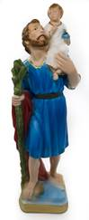 "12"" St Christopher Statue"