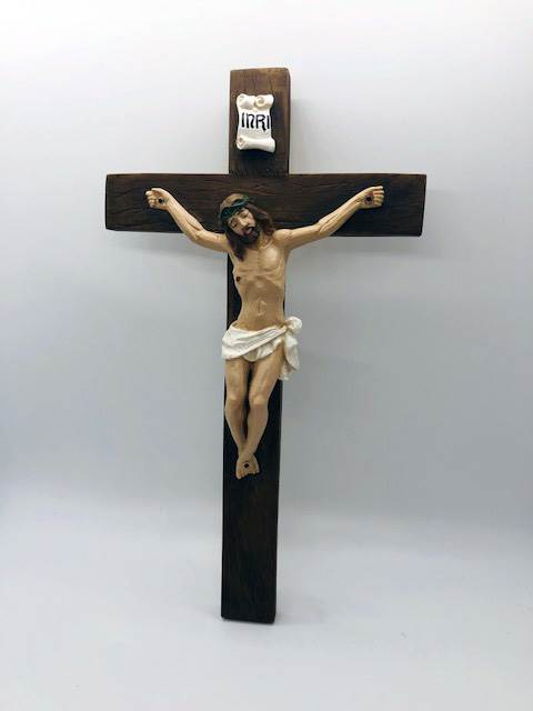"12"" Wall Crucifix from Italy"