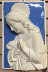 "12"" x 5"" Madonna Della Robbia Wall Hanging *WHILE SUPPLIES LAST*"