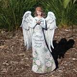 "13.25"" Memorial Angel with Dove"