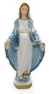 "13"" Our Lady of Grace Statue Pearlized"