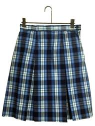 #76 Box Pleat Uniform Skirt