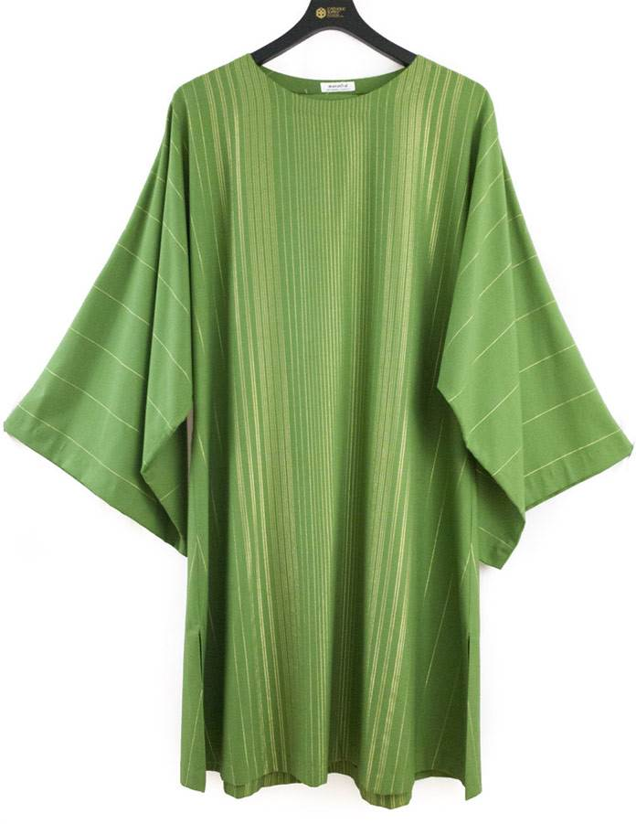 14 Green Rayada Dalmatic