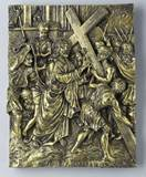 14 Piece Stations of the Cross -Bronze Finish