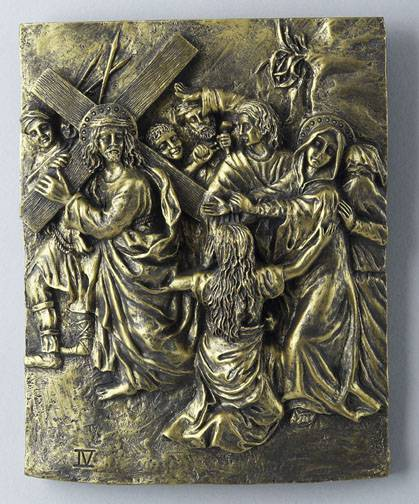14 piece stations of the cross bronze finish - Exterior church crosses for sale ...