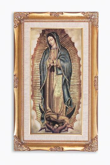 Our Lady of Guadalupe Framed Picture, 14 inch x 24 inch