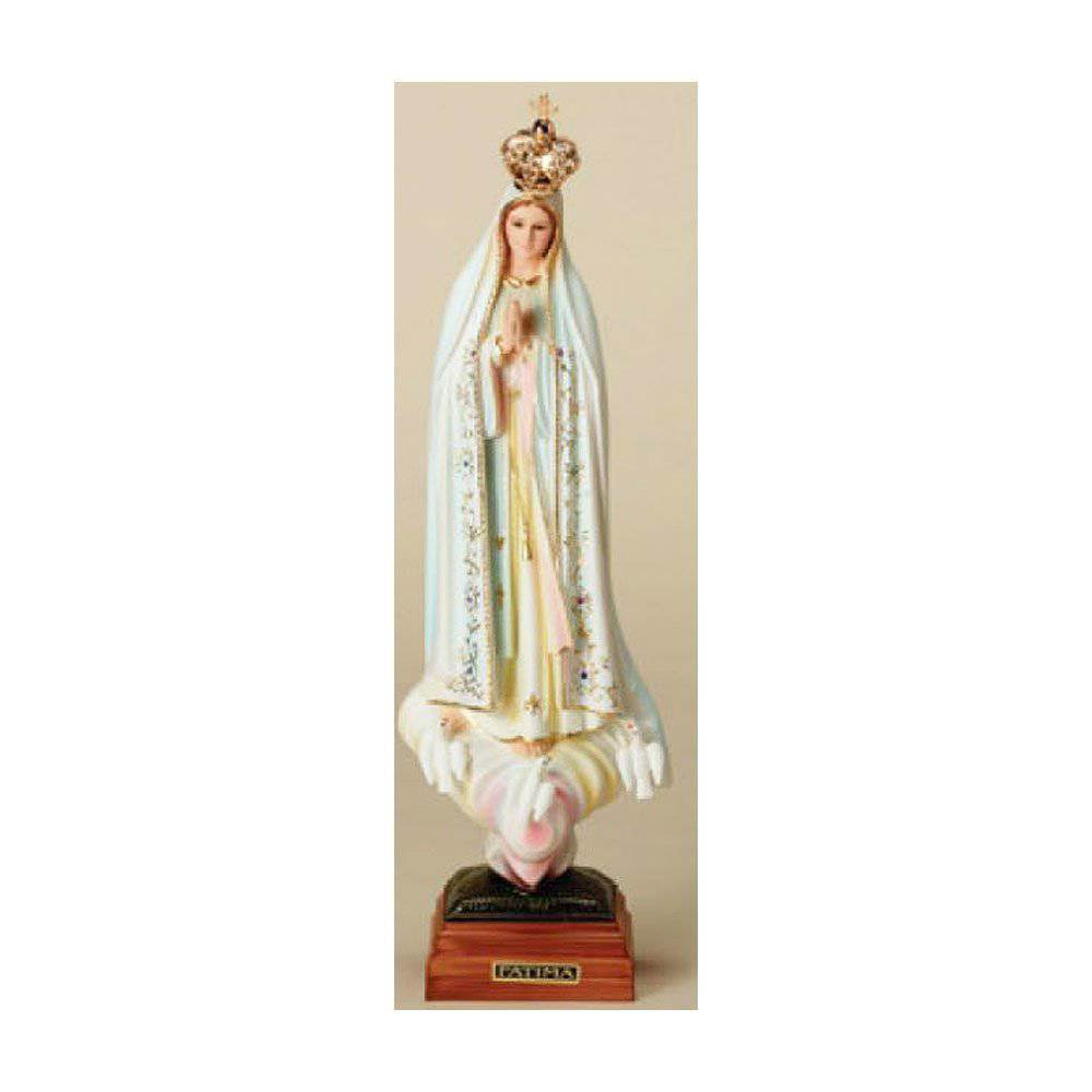 "16 1/2"" Our Lady of Fatima Statue with Crown"