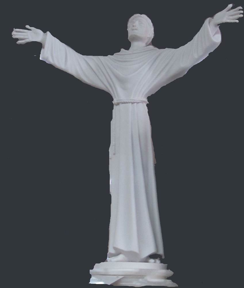 "16.5"" St Francis Statue"